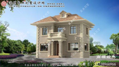 戚墅堰区欧式两层别墅的设计图,采光好,空间