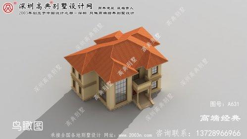雨山区自建二层别墅设计图
