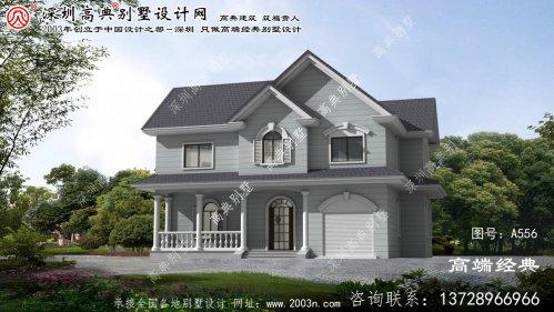 砀山县农村小型别墅外观图