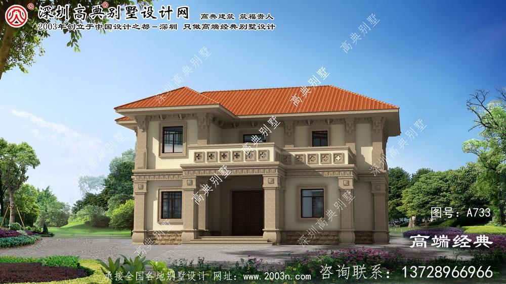 含山县自建房屋平面图