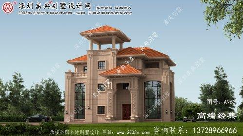 安远县农村三层房屋设计