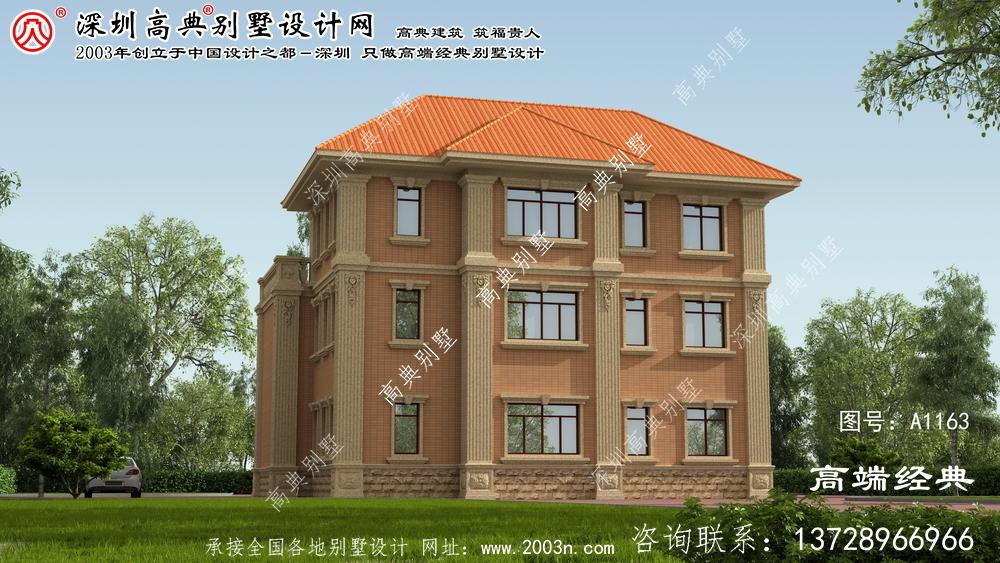 沂南县独别墅设计图