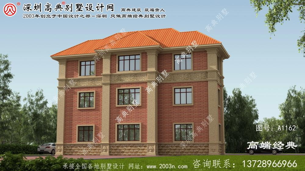夏津县别墅外观结构设计图