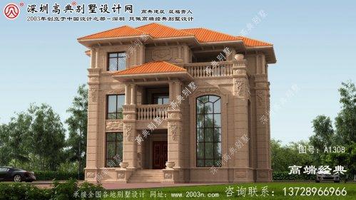 赞皇县别墅设计图纸农村