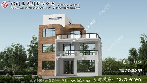 垣曲县农村房屋别墅设计图纸