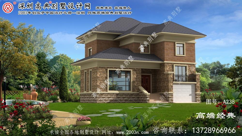 安图县别墅型设计图