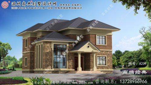 龙井市农村房屋别墅设计图