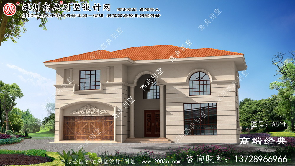 安阳县最新小别墅设计图