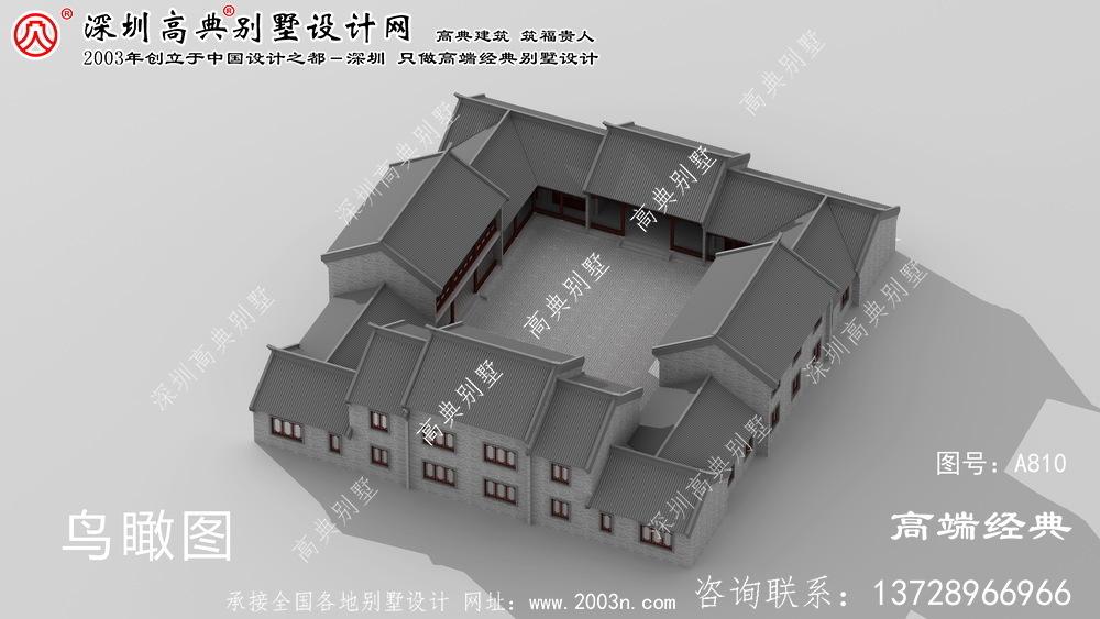 滑县别墅设计图设计
