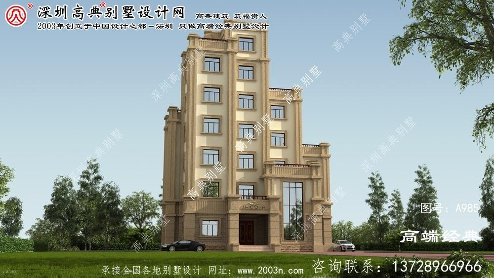 竹溪县独栋别墅图纸大全