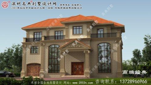 衡阳县三别墅设计图