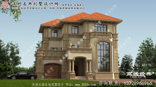 衡山县建筑别墅设计图