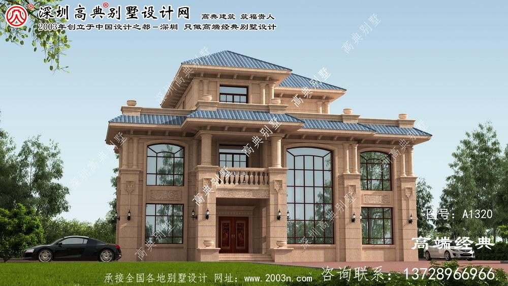 龙岗区别墅三层设计图