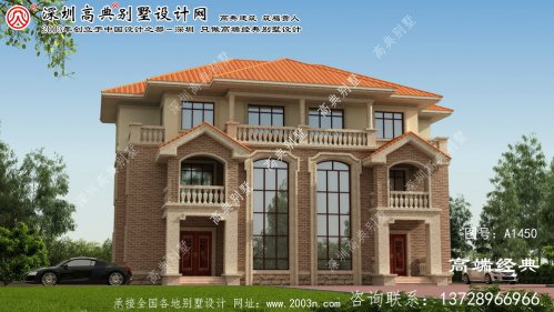 云城区双拼大型别墅平面图