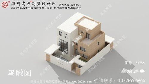 合山市农村别墅设计施工图