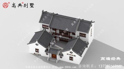 八宿县山村别墅设计图