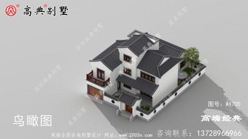 洛隆县乡村三层楼房设计图