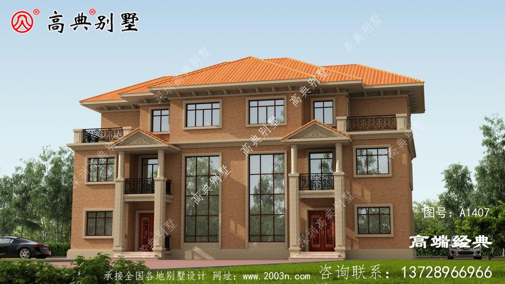 皋兰县最新农村三层别墅