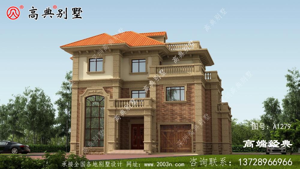 玛沁县农村普通自建房效果图