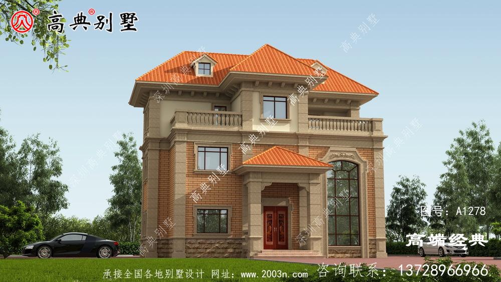 甘德县农村自建房平面图