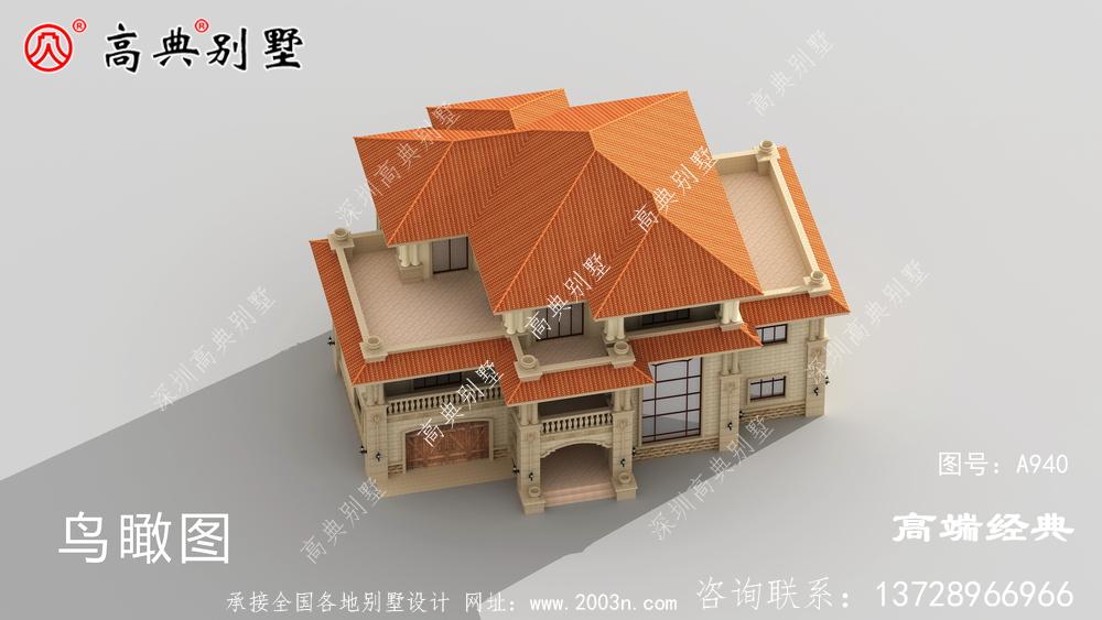 乡村别墅设计,带车库