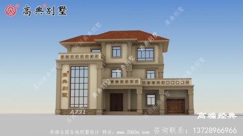 农村的大户型别墅设计图