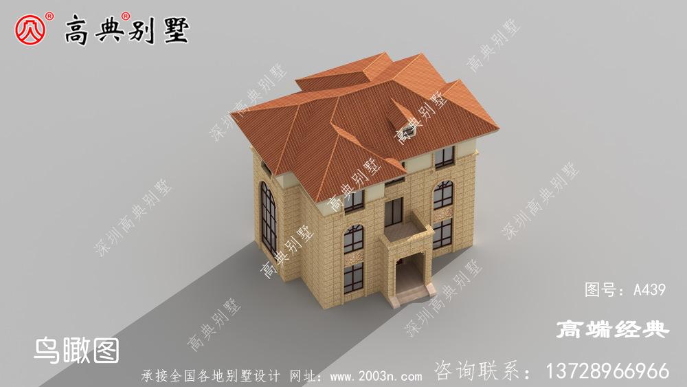 105平米农村小别墅造型简单大方