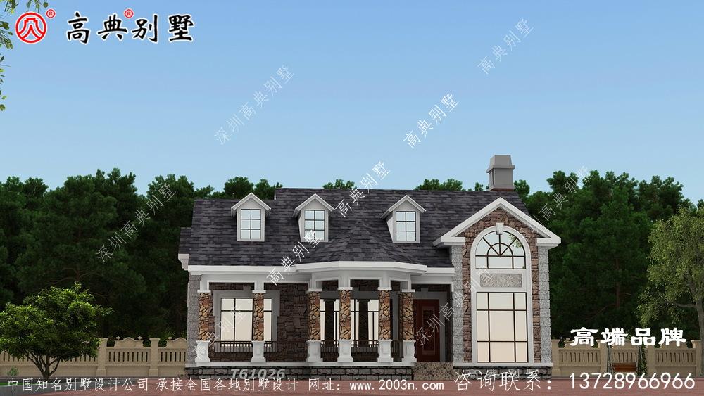 别墅图片大全图配合灰坡屋顶 ,高级 大气