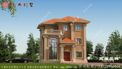 普通农村房子设计图片大全简约中透露出时尚气