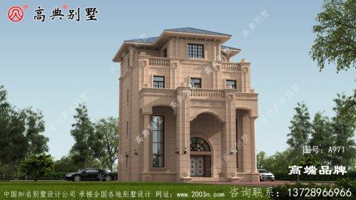 乡村五层楼房设计图造价经济实用