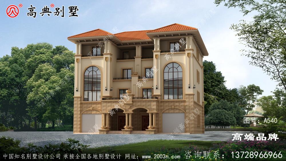 农村设计房子平面图纸品质高雅的别墅设计图纸
