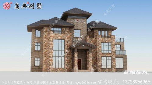 设计农村房屋看起来非常漂亮洋气