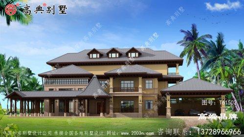 农村房子设计图住起来肯定很舒适!