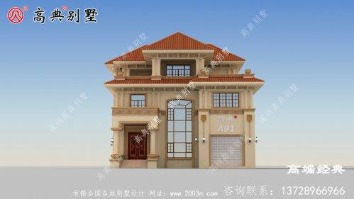漳州市自建房带小院,带效果图和户型图,建房