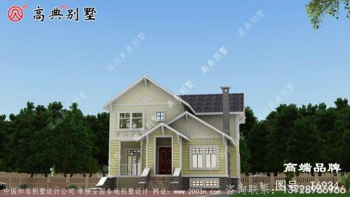 美式小别墅设计南北通透住起来更惬意。