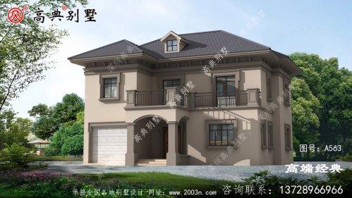 醴陵市二层别墅设计图千万不能错