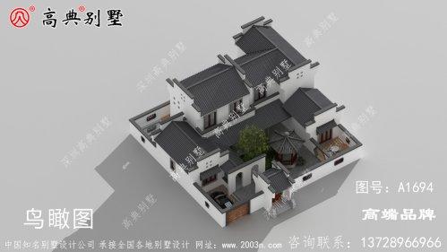 乡下房屋设计图设计高大具有气势