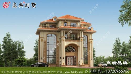 如何设计房屋立面搭配高档尽显豪华与贵气