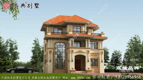 建设房子设计图片大全村里人都羡慕极了。
