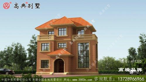 小别墅效果图整体设计简洁大方