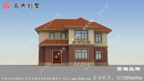两层别墅设计图片大全功能多样且造型大气