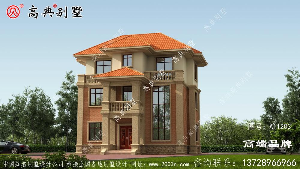 三层别墅设计图片功能性多样