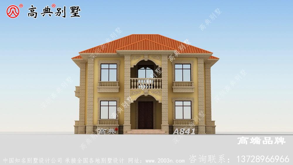 小户型别墅设计图传递恬淡的观感氛围