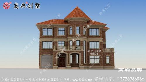 欧式三层自建房图纸符合现代人的住房的需求