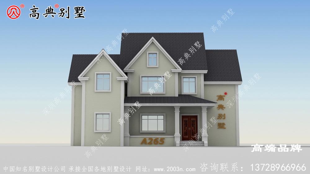 农村两层房屋设计图大全麻雀虽小,五脏俱全