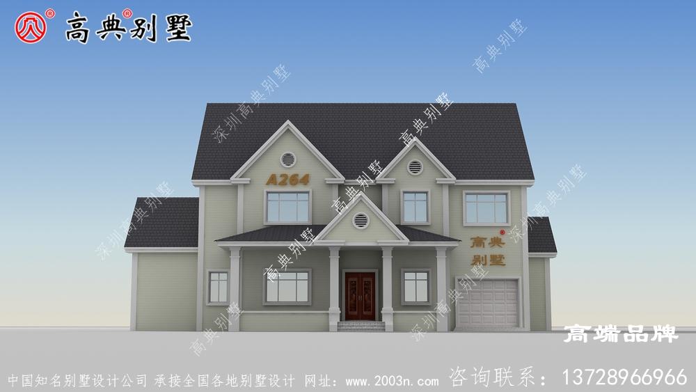 农村房设计图大全集建造风格符合大众审美