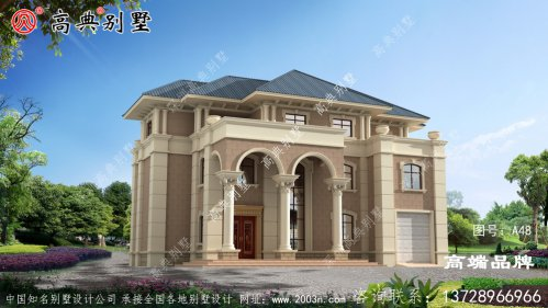 别墅的设计图整体风格一致十分醒目