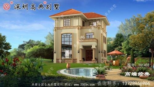 农村自建房设计图,符合大众审美观,以及舒适