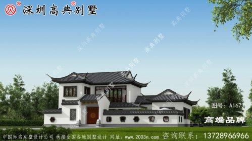 新中式别墅 ,心动 就赶紧 回村 建房吧!