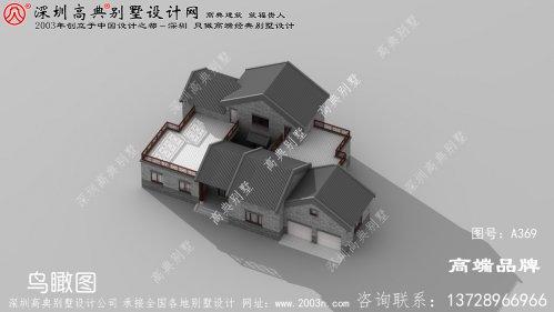农村一层自建小别墅,主体建成才